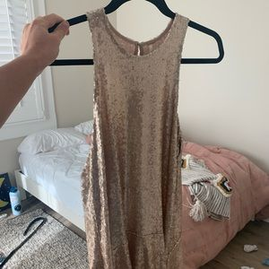 Free people sparkly dress!